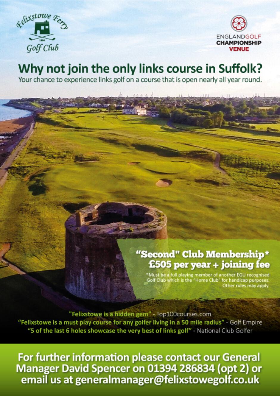 Golf Club in Suffolk